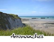photographies d'Arromanches les Bains