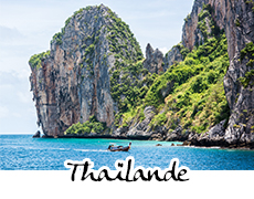 photographies de la Thaïlande